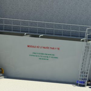 Module xử lý nước thải y tế từ 13m3/ ngày.đêm