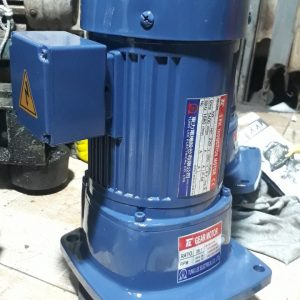 Motor giảm tốc công suất  0,75 Kw (Japan 99%)